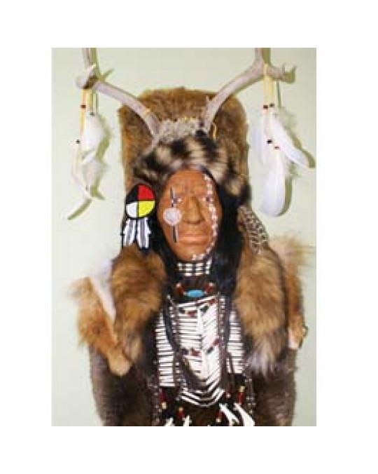 Zeremonialmaske, Deer-Dreamer Lakota Jäger