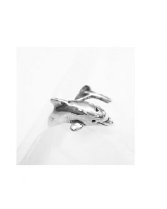 "Verstellbarer Ring ""Delfin"""