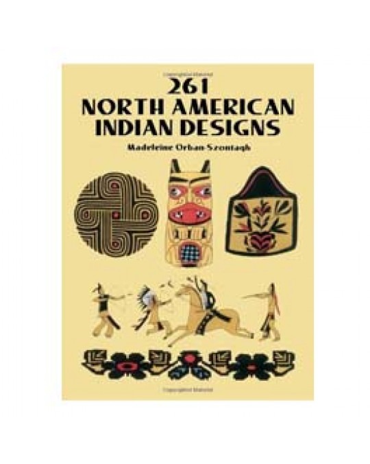 "Design Buch ""261 North American Indian Designs"""