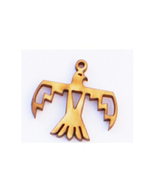 Holzamulette Symbole der Indianer-Donnervogel Motiv