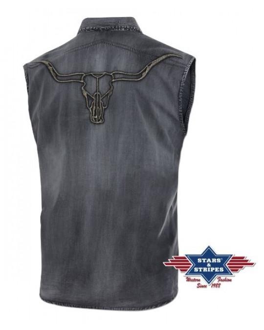 "Ärmelloses Hemd ""Longhorn"" von Stars & Stripes"
