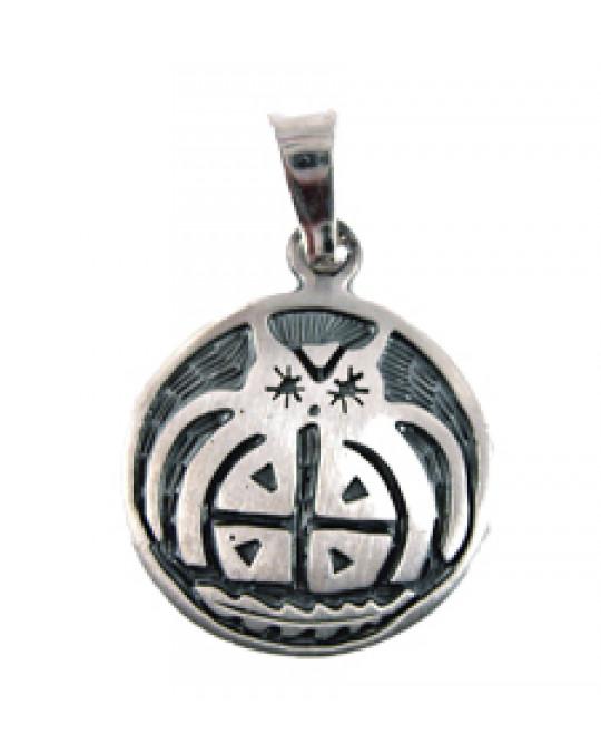 """Sternzeichen-Amulett """"Eule"""" 23.11.-21.12."""