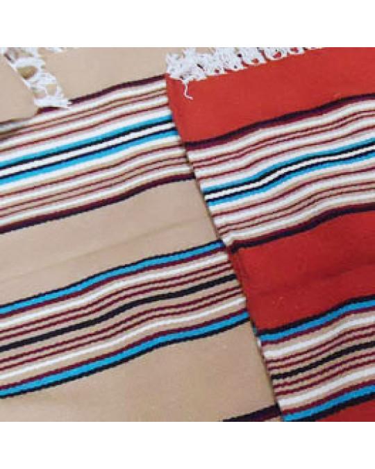 """Gewobene Decke/Teppich """"Pow Wow""""  im mexikanischen Stil"""