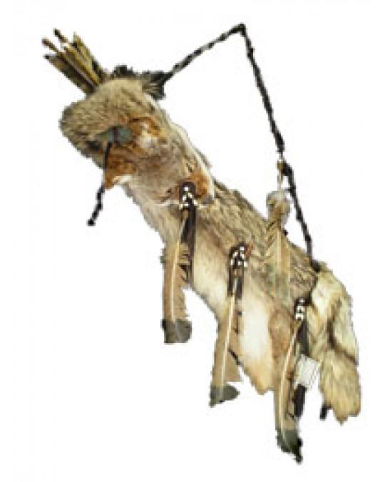 Pfeilköcher, komplett aus Coyotenfell der Navajo