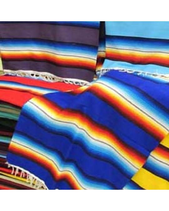 Regenbogen Decke (gross) im mexikanischen Stil, Serape