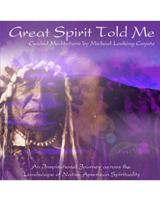 "CD ""Great Spirit told me"""