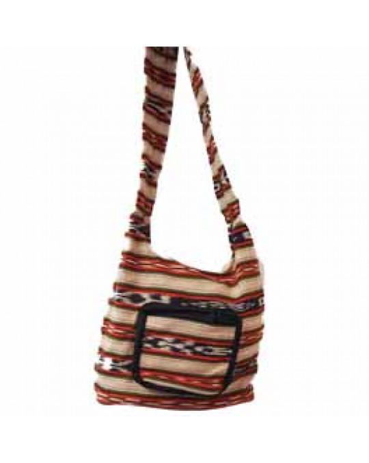 Typische Guatemala Tasche in Erdtönen