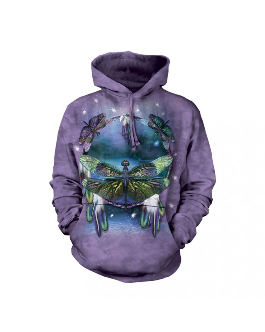 Traumfänger mit Libellen Hoodie (Kapuzen-Sweatshirt) von The Mountain