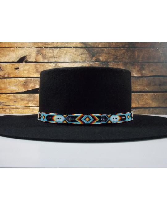 Cherokee Hutband mit Federnmotiv