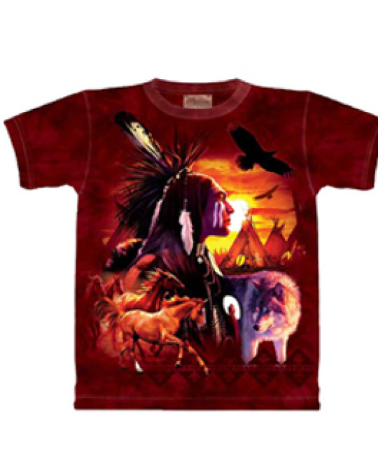 """Indian Collage"" T-Shirt von The Mountain"