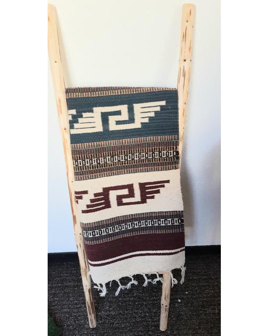 Gewobener Teppich aus Wolle