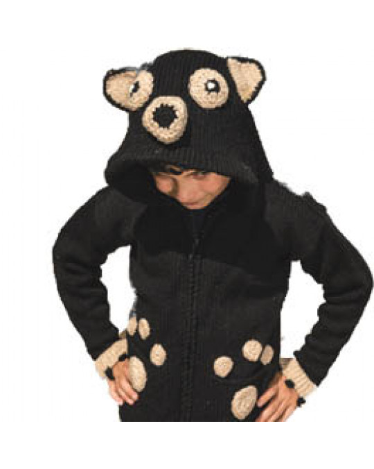 """Kid's Strick Jacke """"Bärenbrüder"""""""