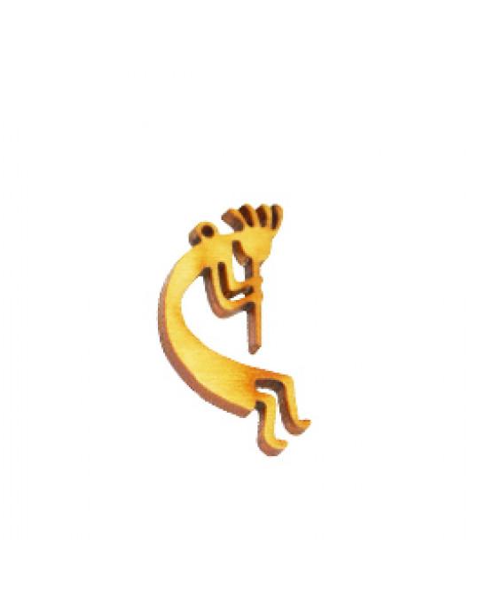 Holzamulette Symbole der Indianer-Kokopelli Motiv-