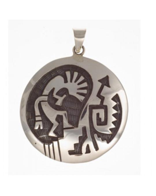 Grosses Amulett Kokopelli
