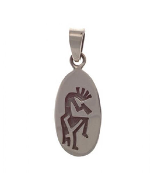 Längliches Amulett Kokopelli