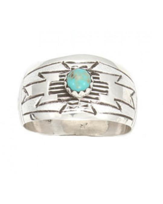 Breite Türkis Ringe der Navajo