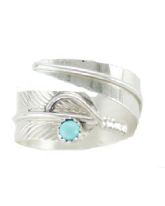 Feder Ring der Navajo, leicht verstellbar