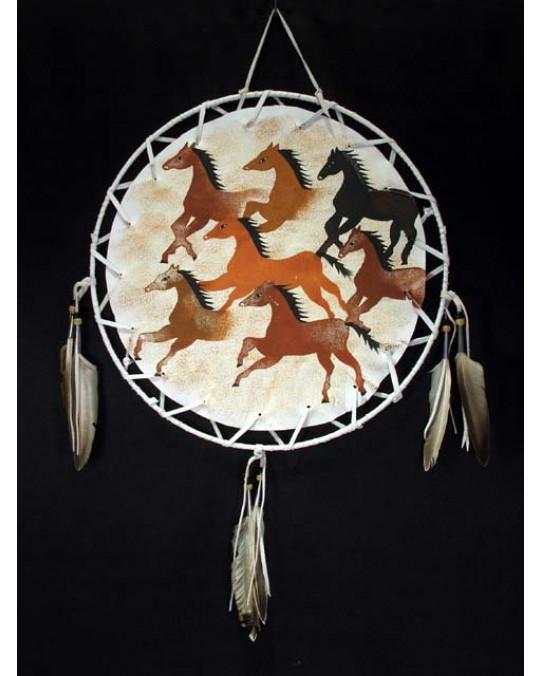 Schilder - verschiedene Motive, Pferde, Bison, Tipi