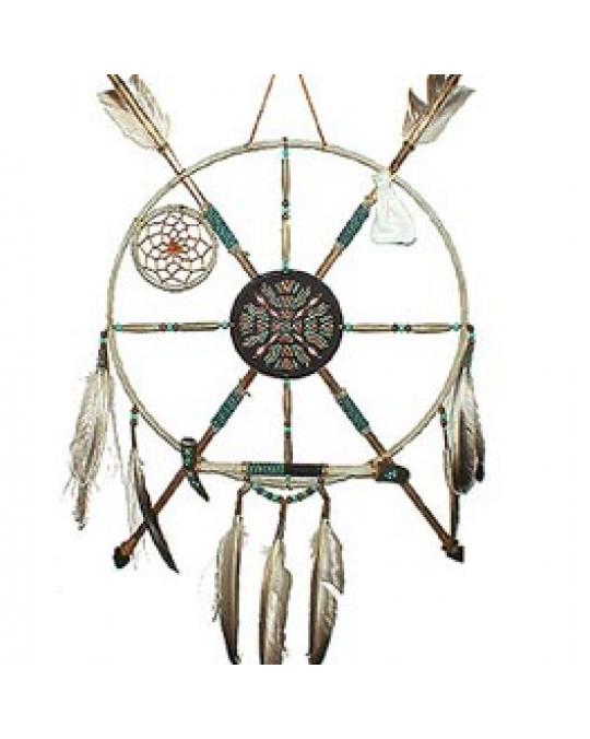 Medizinrad /Ausrüstungsschild Navajo