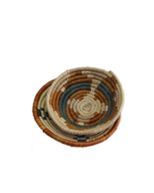 Mini Körbchen im indianischen Stil