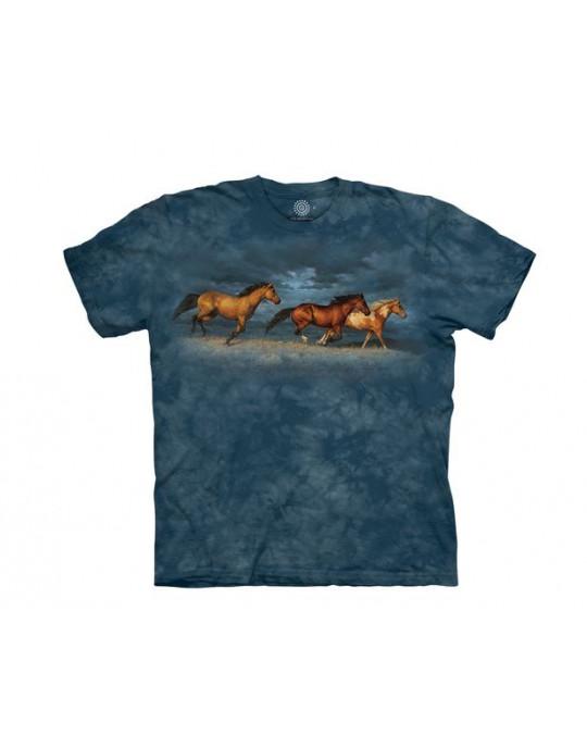 """""""Thunder Ridge Horse"""" - T-Shirt von The Mountain"""