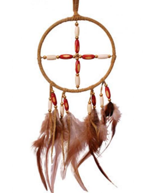 Ojibway Medizinrad mit Naturperlen