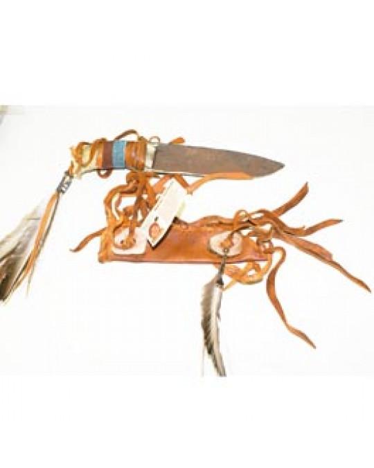 Messer der Navajo aus Geweih und Metall