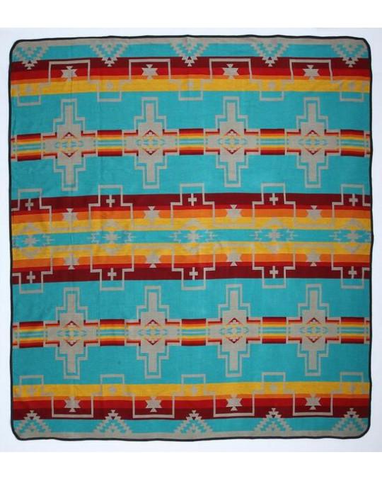 Bettüberwurf  im mexikanischen Stil, aus Peru