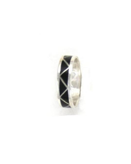 Inlay Ring der Zuni- verschiedene Farben