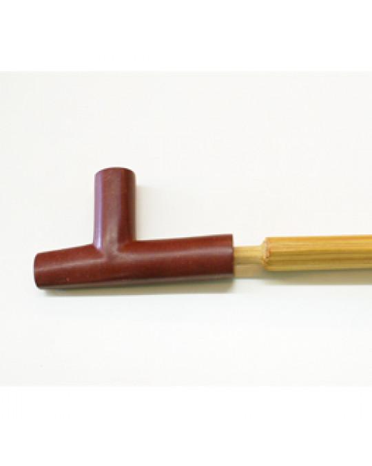 Mittlere Pfeife, Steinschnitzerei aus Pipestone