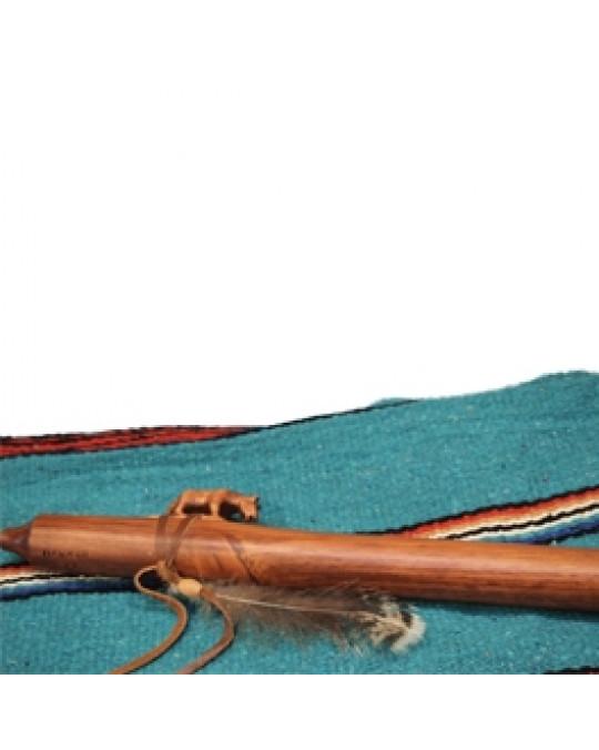 """Flöte """"Puma"""" -indianische Handarbeit, Navajo"""