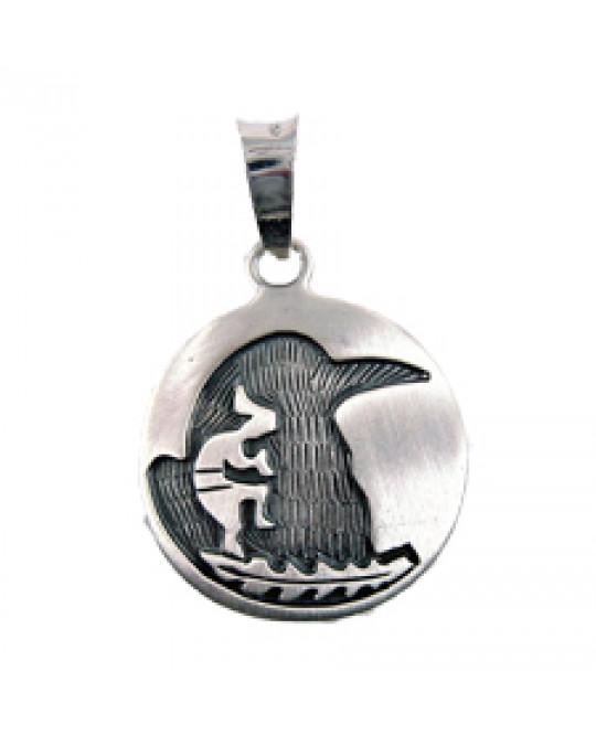 """Sternzeichen-Amulett """"Rabe"""" 22.9.-22.10."""