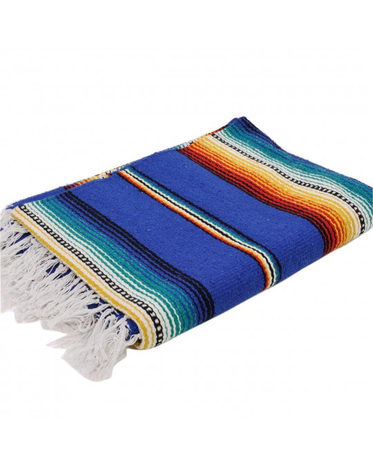 Gewobene, original mexikanische Decke SERAPE STRIPE in 2 Farben