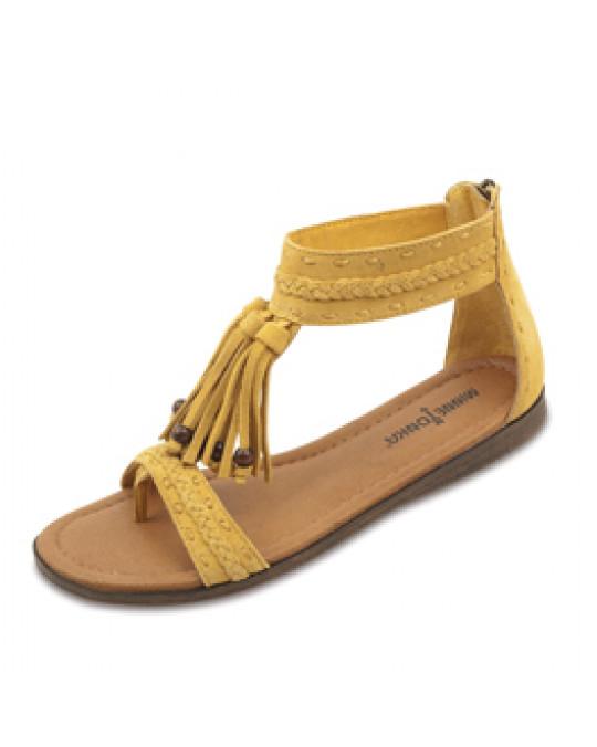 """Sandale """"Belize"""", gelb, Gr. 41"""