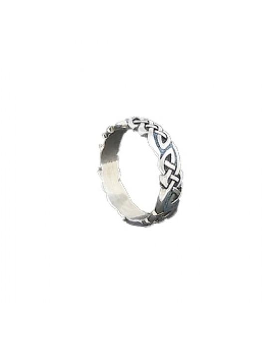Ring keltisches Muster, schmal