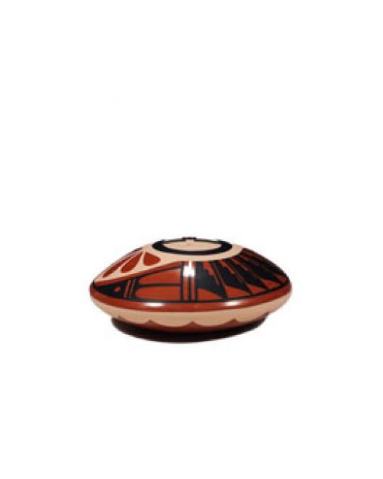 """Kleine Töpferei """"Seed-Pot"""" aus dem Jemez Pueblo"""