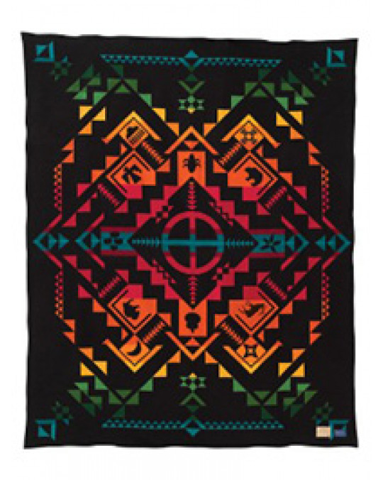 "Pendleton ""Shared Spirits"" Decke"