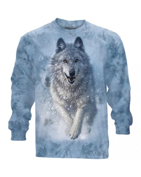 """""""Snow Plow"""" Langärmeliges Shirt von The Mountain"""