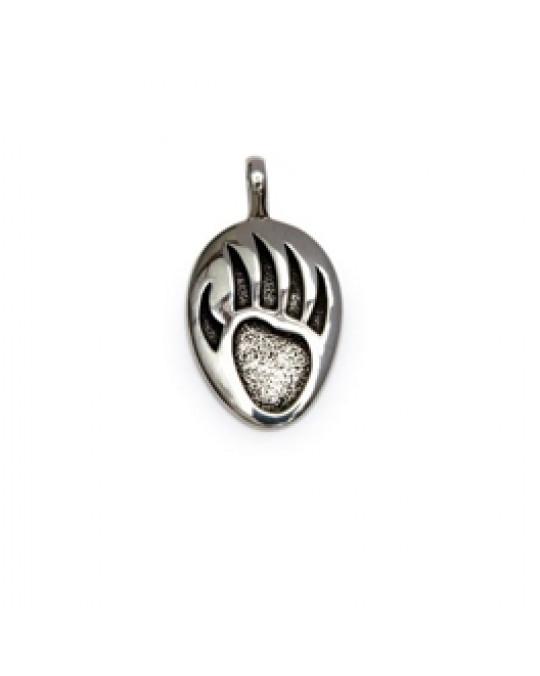 Silberanhänger - Bärentatze
