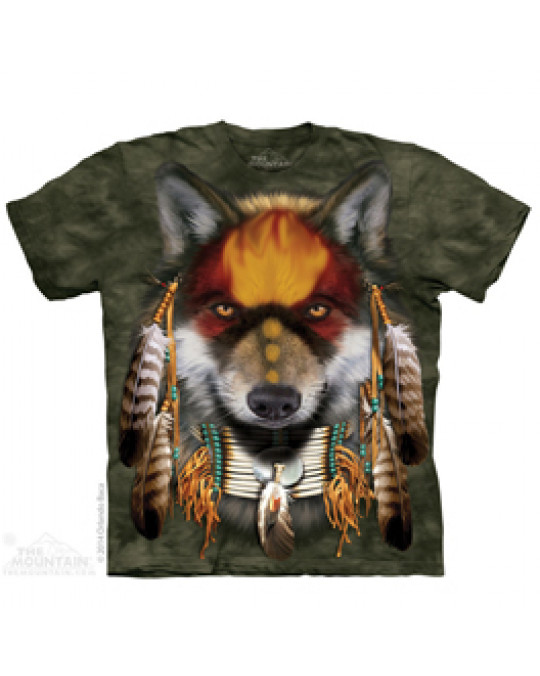 """Native Wolf Spirit"" T-Shirt von The Mountain"