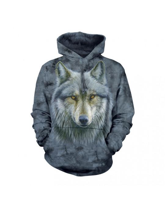 """""""Warrior Wolf""""  Hoodie (Kapuzen-Sweatshirt) von The Mountain"""