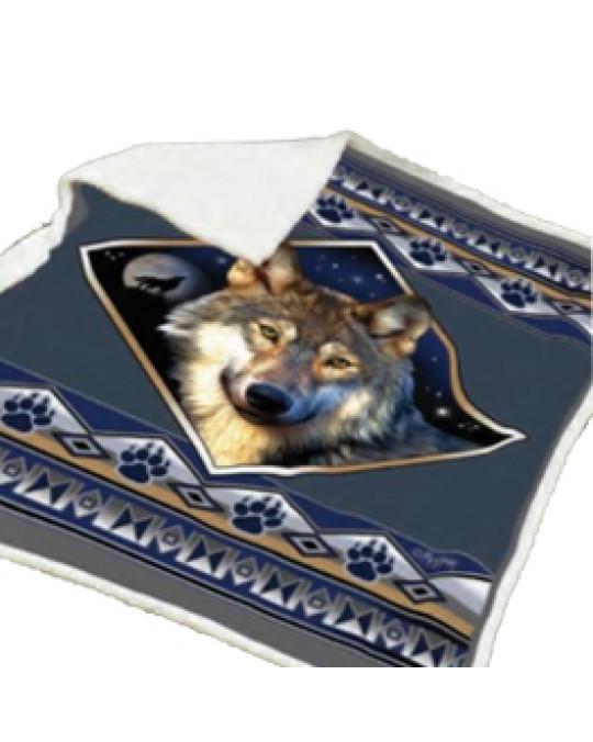"""Kuschelige Decke """"Wolf Ridge"""""""