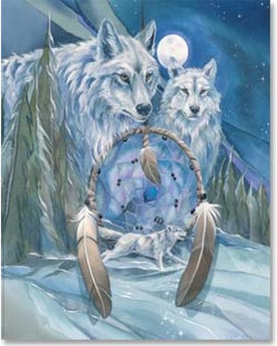 """Grosses Poster """"Wolfdreams"""""""