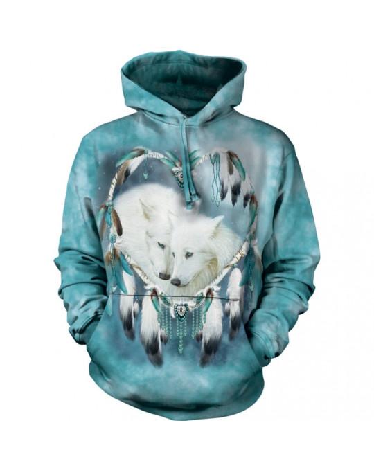 """""""Wolf Heart"""" Hoodie (Kapuzen-Sweatshirt) von The Mountain"""