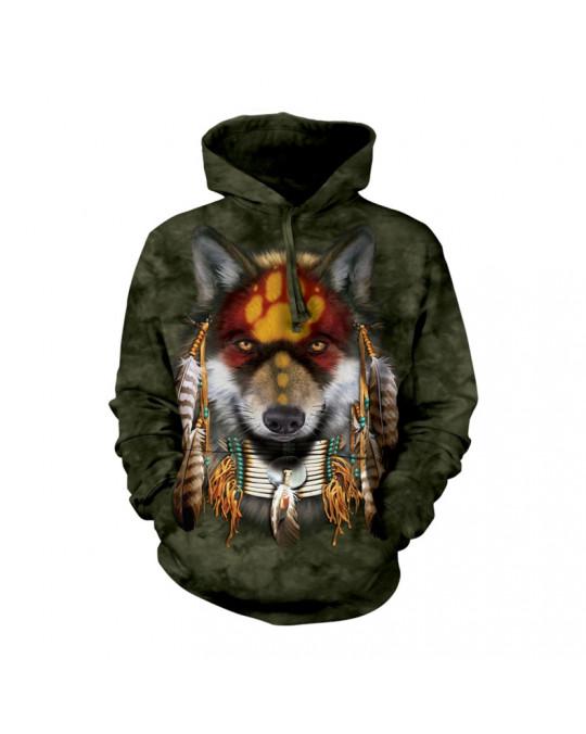 """Wolf Spirit"" Hoodie (Kapuzen-Sweatshirt)"