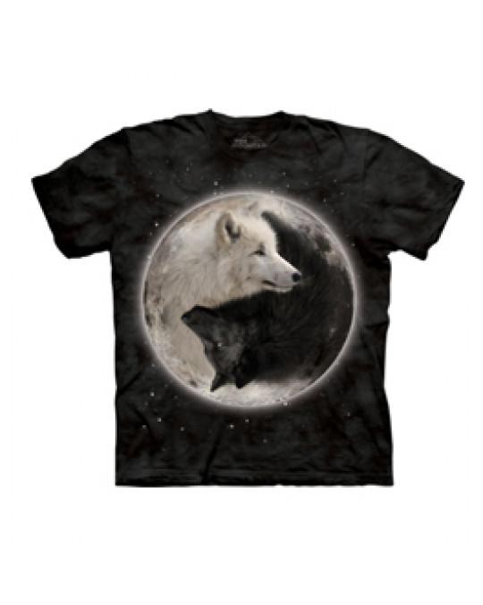 """Yin Yang Wolves"" T-Shirt von The Mountain"