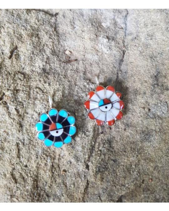 Zuni Sunface Anhänger in 2 Farben